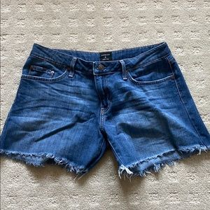 Just Black Denim Shorts